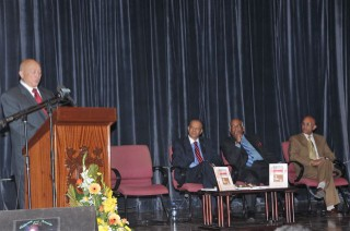 Launching of book SIR SEEWOOSAGUR RAMGOOLAM, A RARE DIPLOMAT by Dr Navin Ramgoolam, Prime Minister of Mauritius